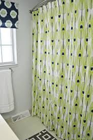 78 Shower Curtain Rod Make A Grommet Topped Shower Curtain
