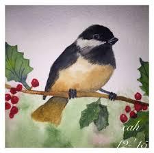 watercolor tutorial chickadee doodlewash by carol hartmann watercolor painting of chickadee on