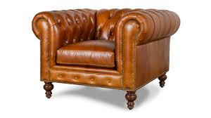 classic chair cococohome classic chesterfield leather chair made in usa