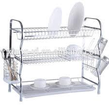 3 tier kitchen cabinet organizer xiangyi 3 tier kitchen chrome dish rack buy kitchen cabinet dish