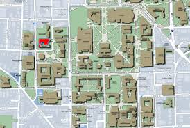 Michigan Campus Map by Mcard Center Student Activities Building University Of