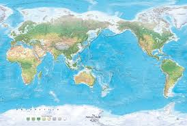 World Map Actual Size by World Wall Maps
