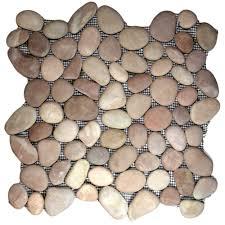 bathroom pebble tiles pebbles tiles pebble rock tile