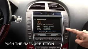 lexus es 350 for sale 2012 2007 2012 lexus es350 navigation dvd youtube
