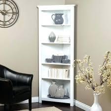 Corner Bookcase Cherry Wood Corner Shelves Bookcase White Corner Bookcase Corner