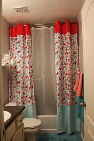 Small Shower Curtain Rod Bathroom Best Shab Chic Shower Curtains Target Ideas Intended For