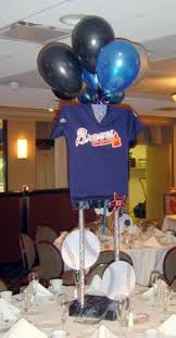 baseball centerpieces do it yourself sports jersey centerpieces a bnc and