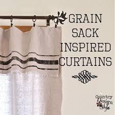 Blue Gingham Shower Curtain Grain Sack Inspired Curtains Grain Sack Drop And Bathroom Curtains
