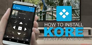 how to setup kodi on android how to setup remote on kodi player using kore app