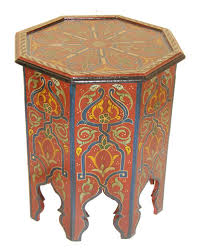 xx tracy porter poetic wanderlust red moroccan side table