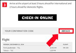 spirit airlines flights check in boarding pass flight status