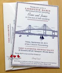 Invitation Card For Dinner Nautical Rehearsal Dinner Invitations Kawaiitheo Com
