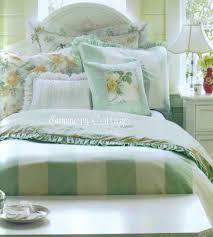 Shabby Chic Floral Bedding by Full Queen Rachel Ashwell Shabby Chic Ruffles Roses Cabana Stripe