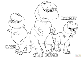 butch ramsey nash good dinosaur coloring free
