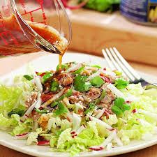 Tuna Salad Mediterranean Style Sesame Tuna Salad Recipe Eatingwell