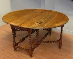 Oval Drop Leaf Table Oak Drop Leaf Dining Table Sanblasferry
