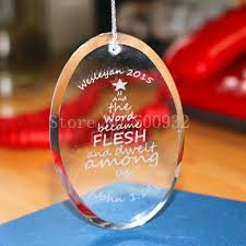 engraved christmas tree ornaments promotion shop for promotional