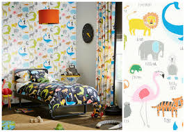 design 5 great animal wallpaper for children u0027s rooms