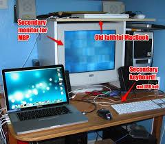 Meme Monitor - dual monitor dual keyboard 皓 blog 皓 peter upfold