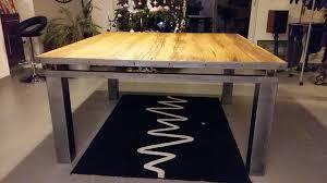 bureau bois acier création de mobilier steel home