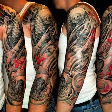 Mens Half Sleeves - 47 sleeve tattoos for design ideas for guys
