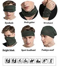 headbands for men magic headbands men women wide wrap seamless bandana scarf uv