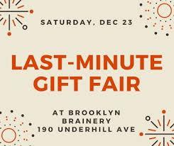 the last minute gift fair