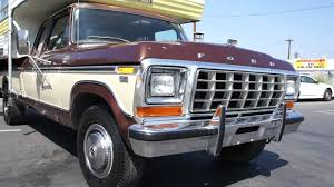 1979 Ford Truck Interior 1979 Ford F 350 Ranger Xlt Camper Special Super Cab Xtra Youtube