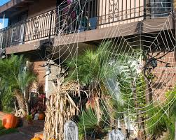 Home Halloween Decorations Giant Spider Web Decoration Amazing Spiderweb Decoration Homemade