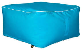 hip chik chair square ottoman bean bag in sunbrella fabric