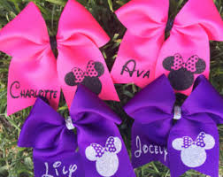 personalized bows personalized softball hair bows soccer bows personalized pink