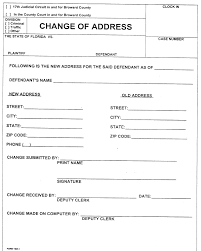 Contract Templates Free Word Templates Printable Address Change Form Construction Contracts Templates