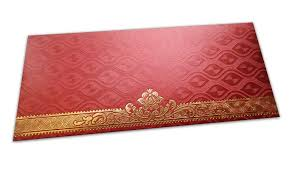 envelope border pattern red shagun envelope with shimmering oval pattern and hot foiled