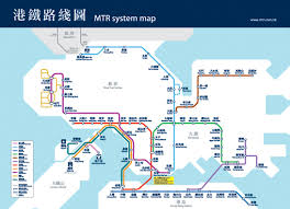 mtr map guide to the mtr in hong kong with hong kong mtr map