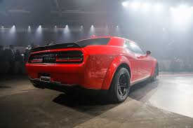 Dodge Challenger Manual - 2018 dodge challenger srt demon first look 840 hp 770 lb ft bat