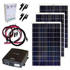 solar panel kits alternative energy solutions the home depot