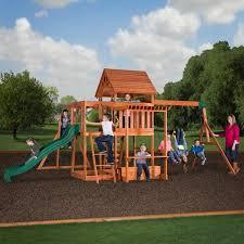 Weston Backyard Discovery Swing Set Qbzb Com
