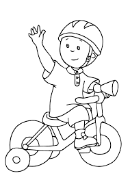 caillou printable coloring pages coloring