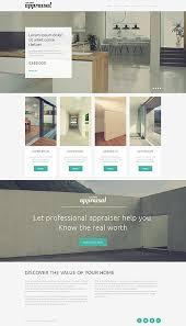 Interior Design Websites Ideas by Template 50775 Real Estate Appraisal Responsive Javascript