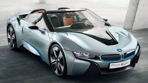 mobility cars bmw bmw i8 spyder pops the top on future mobility autoblog
