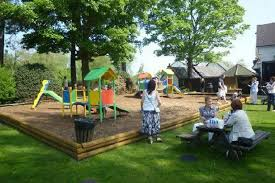 Kids Playing Backyard Football Family Pubs With The Best Outdoor Play Areas Around Manchester