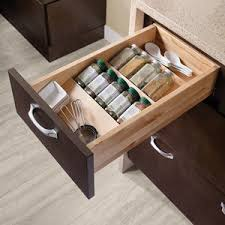 Spice Rack Inserts For Drawers Spice Drawer Insert Kit