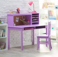 furniture low cost pink and white corner computer kids desk and