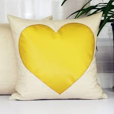 oversized heart throw pillows for couch hit color stitching sofa