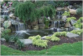 Backyard Waterfall Backyards Excellent Backyard Waterfall Diy Waterfall Kits Diy