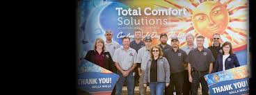 Comfort Solutions Heating Cooling Total Comfort Solutions Llc In Walla Walla Washington