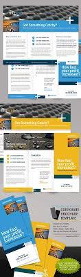 ngo brochure templates manufacturing engineering tri fold brochure template design