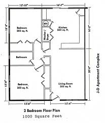 2 bedroom bungalow house floor plan 2 bedroom guest house plans