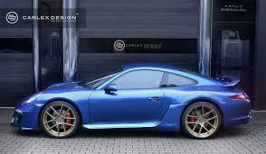electric porsche 911 carlex design porsche 911 blue electric picture 111720