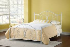 Metal Bed Frames Australia Delectable White Metal Bed Mainstays Fits Fullqueen
